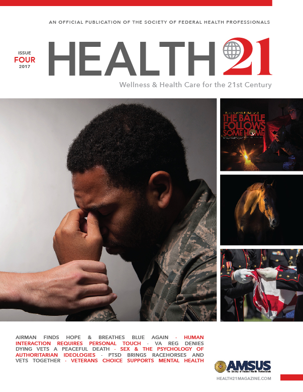 Veteran Health & Technology, Issue 4 Cover