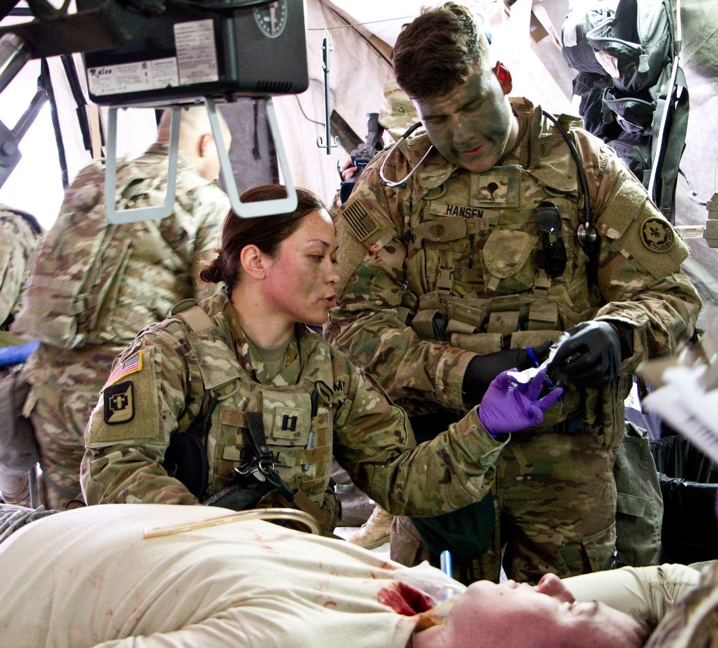 Military medicine: features and history of development 76